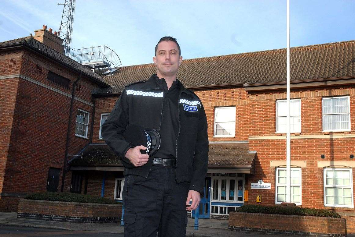 South Holland sector policing Inspector Nick Waters.