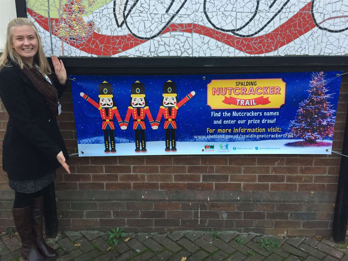 Introducing the Nutcracker Trail ... communities officer Jessica Horn