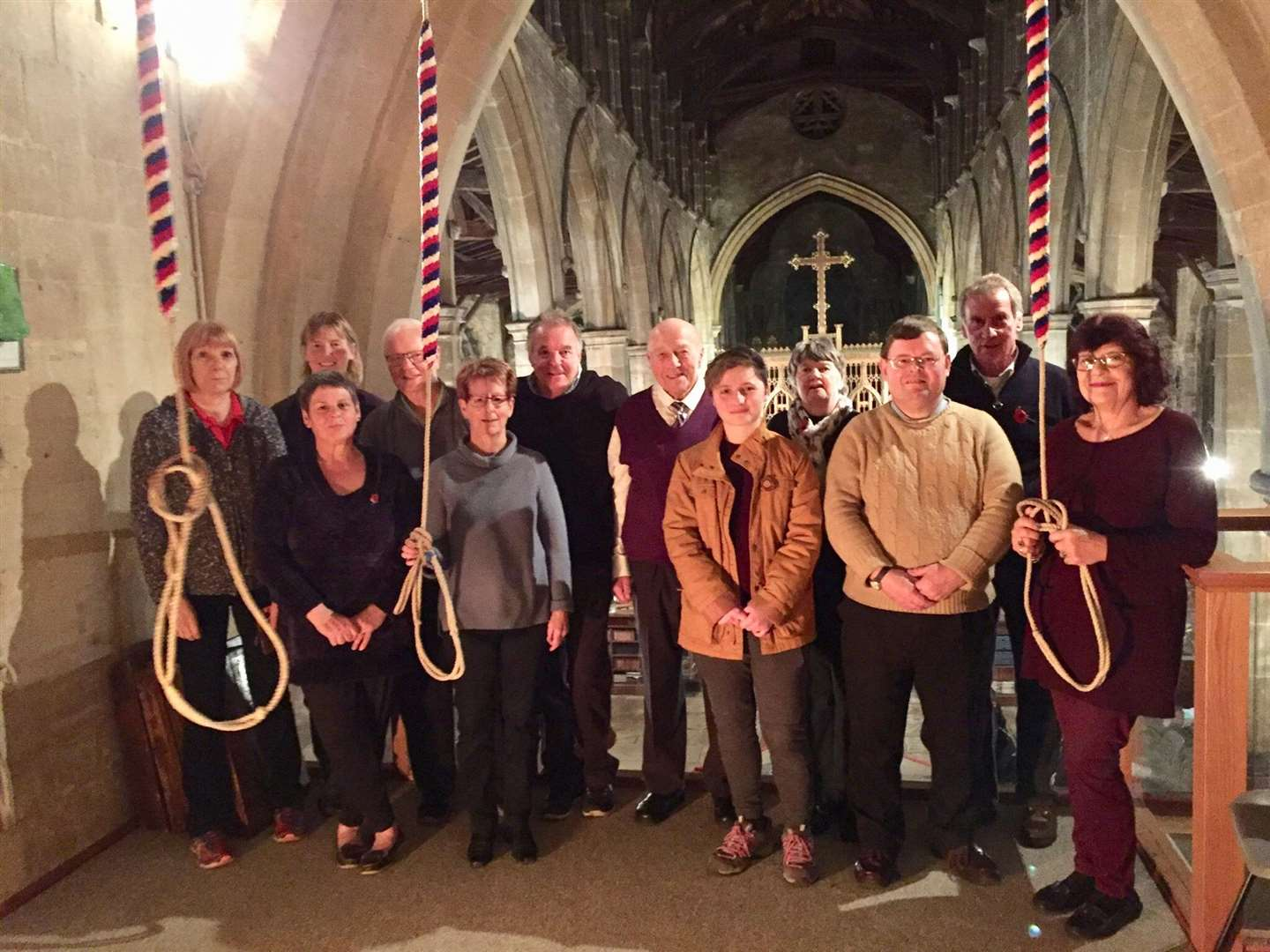 Gedney and Sutton St James bell ringers (5378319)