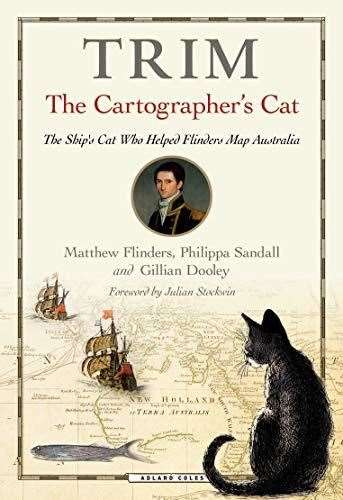 Trim, The Cartographer's Cat: Bookmark in Spalding's Book of the Week.