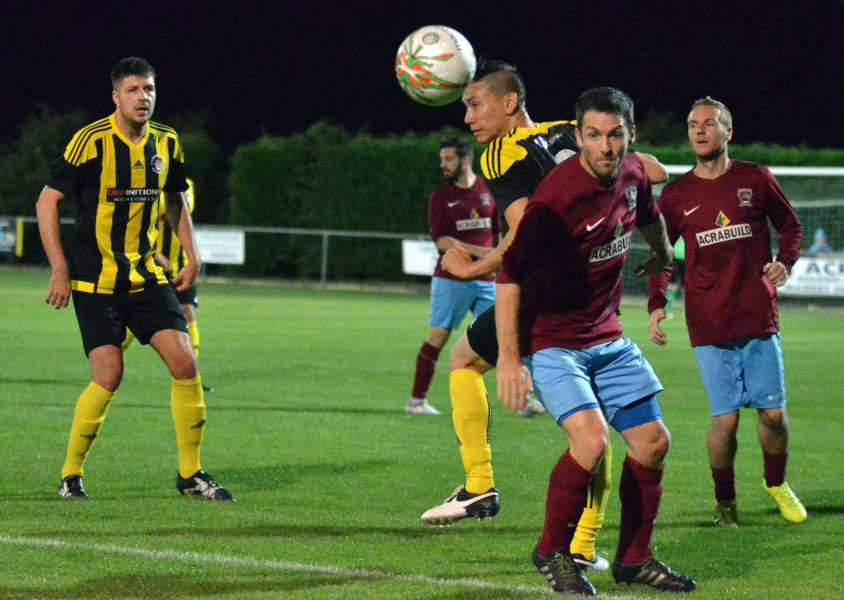 Deeping beat Holbeach 4-3 in the league game in September