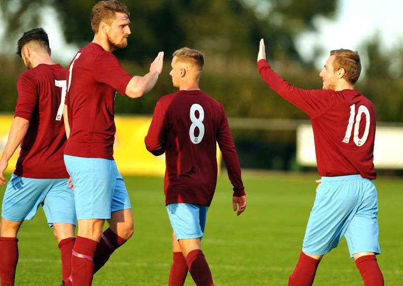 Celebrations for Deeping Rangers