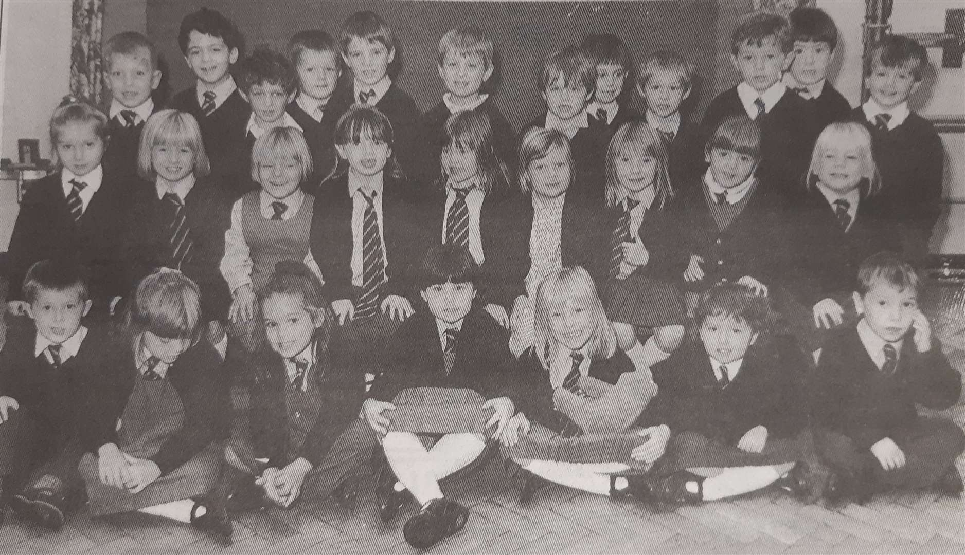 St Norbert's Primary Schoolreception class in 1994. (17782552)