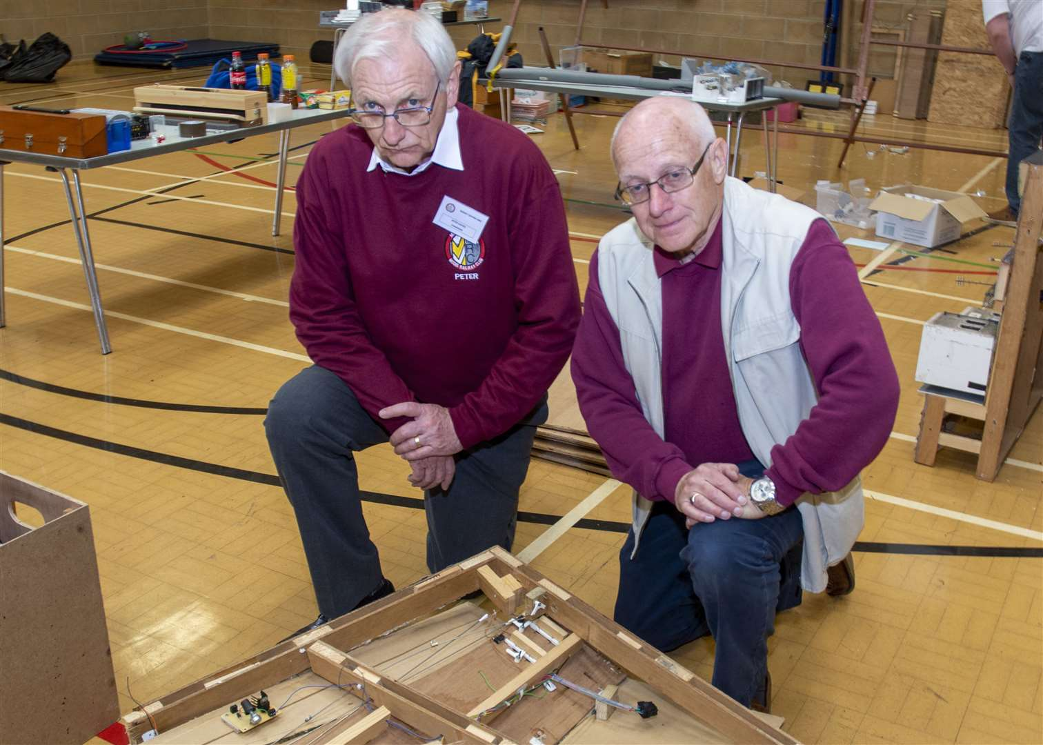 Peter Davies and Bill Sowerby from Market Deeping Model Railway Club (10594318)
