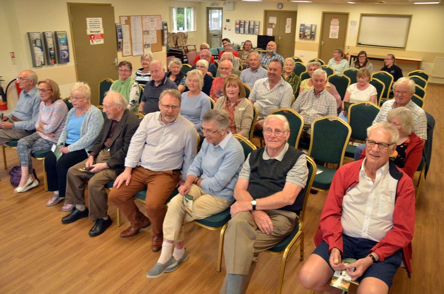A public meeting to launch a new leaflet about Captain Matthew Flinders, held at the Ruby Hunt Centre, Donington, in June 2019.Photo: 030619-8.
