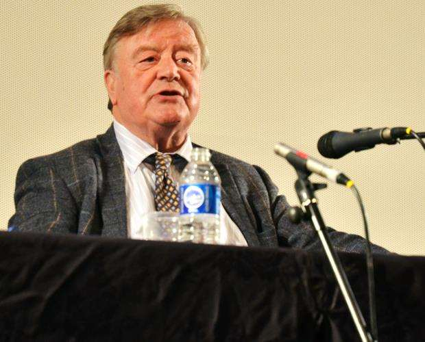 Kenneth Clarke MP at South Holland Centre, Spalding.Photo by Tim Wilson.SG250518-104TW.