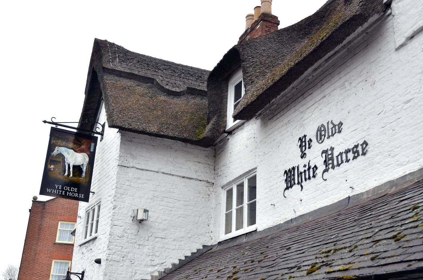 Ye Olde White Horse, in Churchgate, Spalding, dates back to the 16th century.Photo by Tim Wilson.SG-070419-016TW
