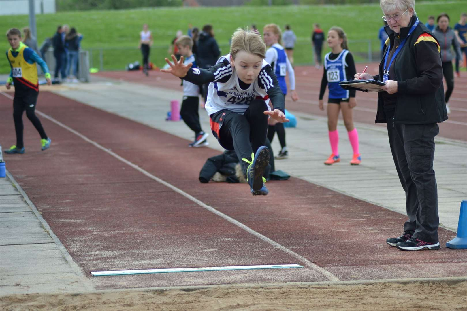 Lawson Capes holds the Lincolnshire under-11 record for the long jump with a personal best of 3.72m set in May.