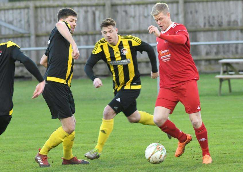 Holbeach lost 4-0 at Wisbech on Boxing Day