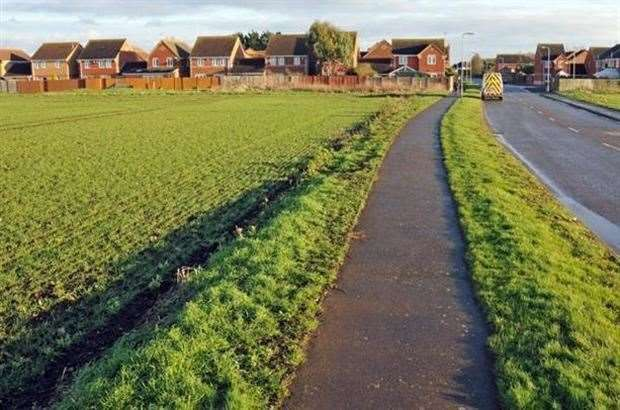 A decision on plans to build more than 100 new homes on land off Crease Drove, Crowland, have been put off, partly because of concerns over the removal of a 'buffer zone' between the proposed estate and Crowland Cranes.