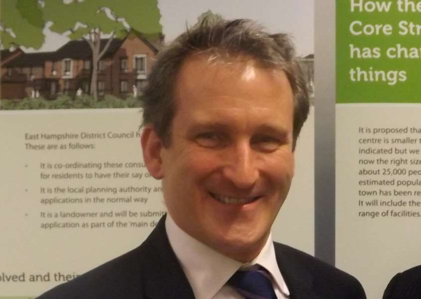 Damian Hinds MP, Minister for Employment.