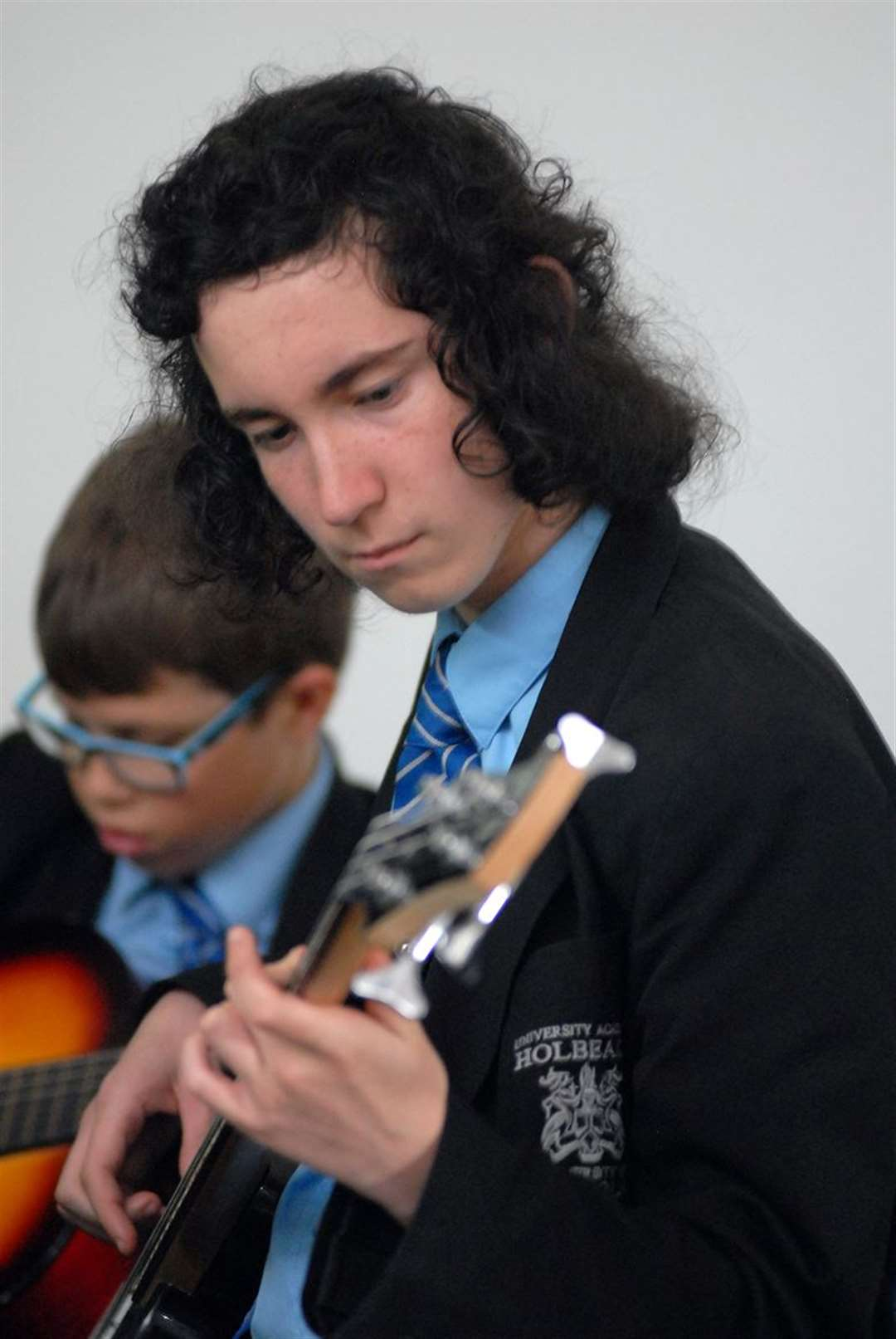 Students play 'Music of the Americas'