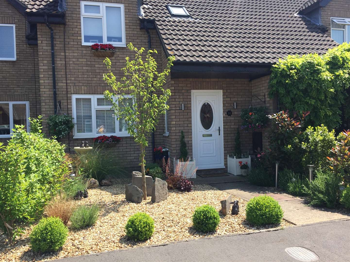 Last year's winning garden, of Mandy and Steven Clarke, of Ambleside Drive, Spalding (2255547)