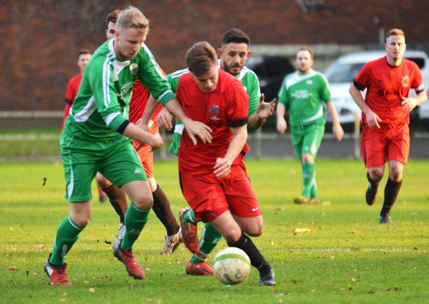 Pinchbeck beat Burton Park Wanderers 2-1 at home in November