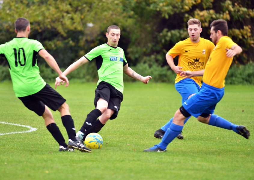 Spalding Town beat Holbeach United A last weekend