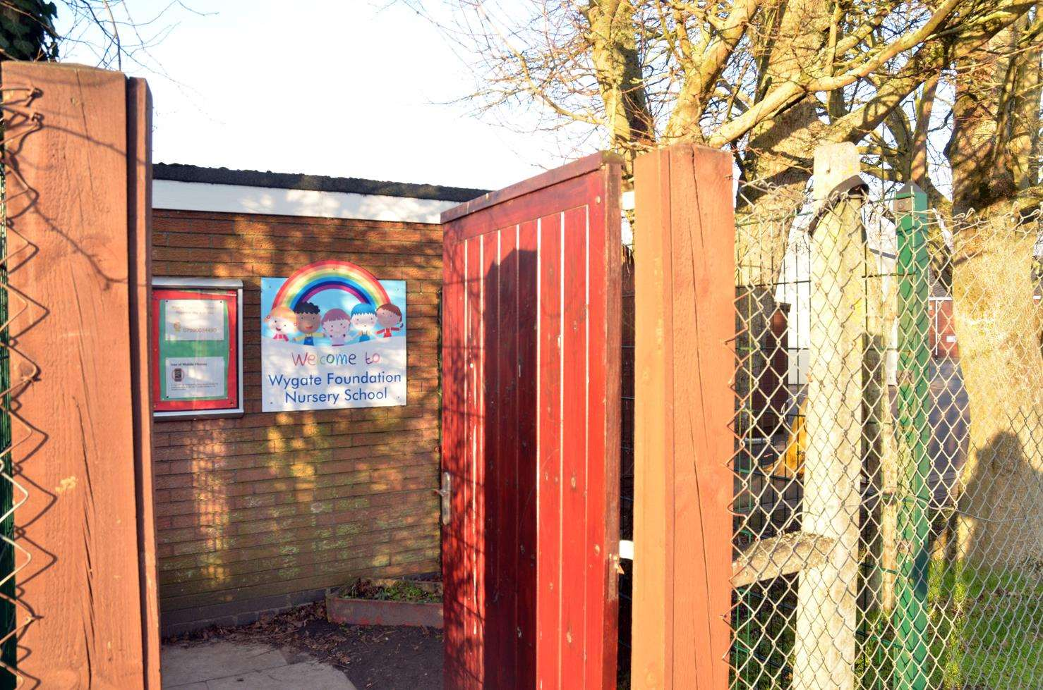 Wygate Foundation Nursery School has applied for planning permission to build a permanent classroom. Photo (TIM WILSON): SG-010219-014TW