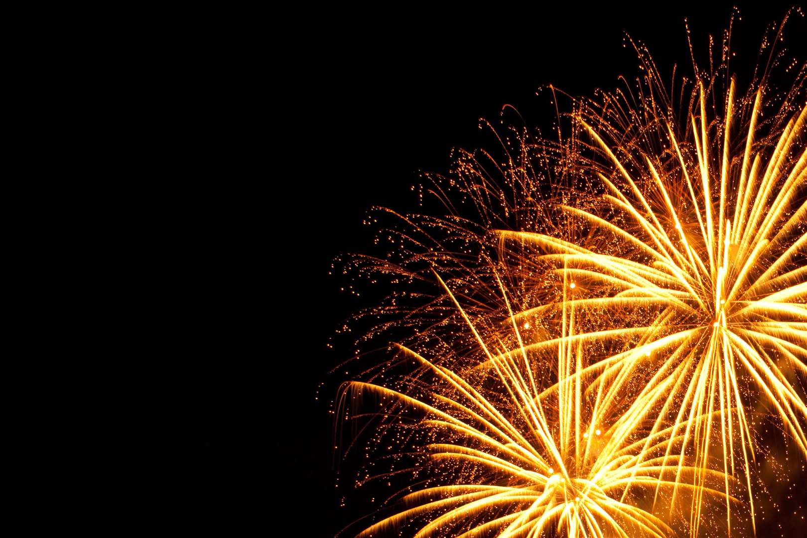 Enjoy a fireworks display in Donington on Friday, at the Community Centre.