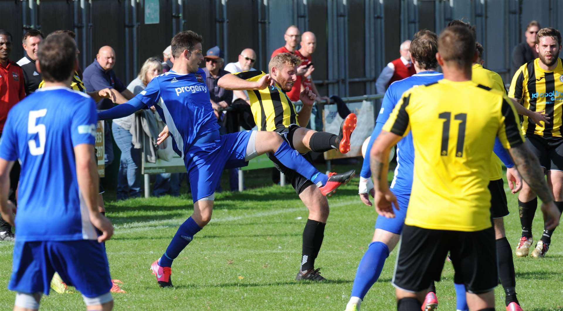 Holbeach United were knocked out of the FA Cup by Sheffield.