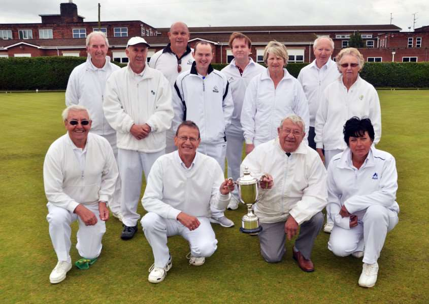 Spalding Town win the Sid Lane Cup