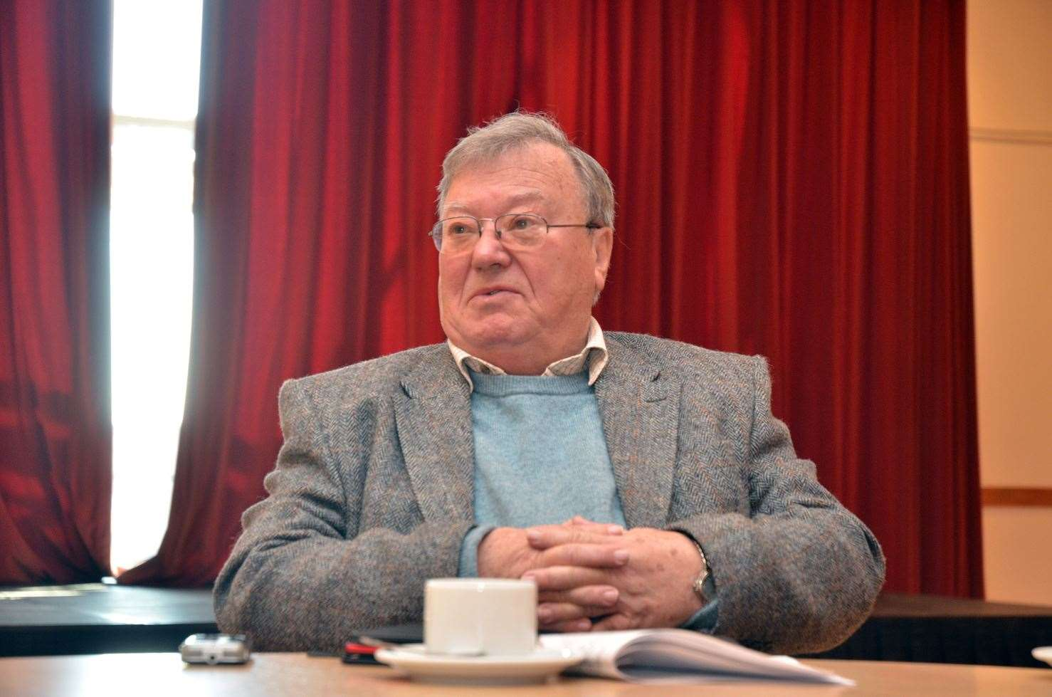 Spalding and Peterborough Transport Forum chairman George Scott.Photo by Tim Wilson.SG-250219-011TW.