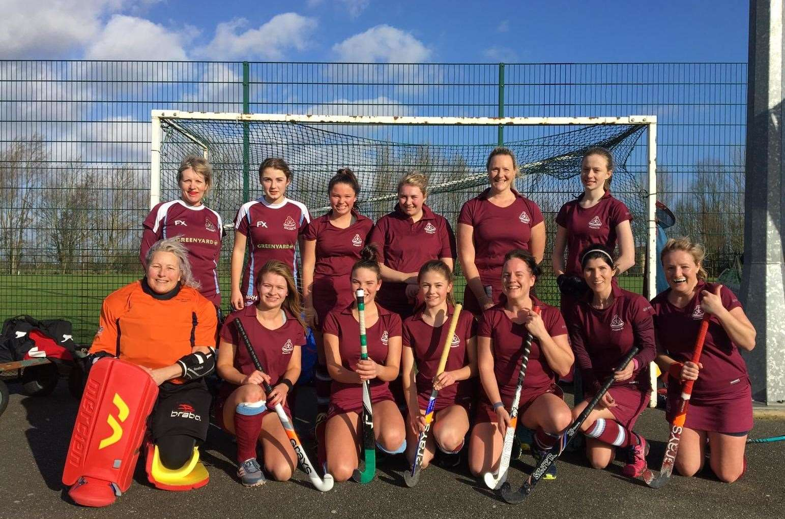 Spalding Ladies' 3rds who beat Long Sutton 2nds 3-0 at Glen Park.Photo supplied. (28351672)