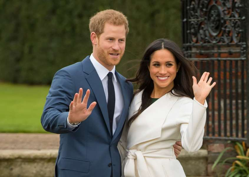 Prince Harry and Meghan Markle marry in May this year. Photo: Dominic Lipinski/PA Wire.