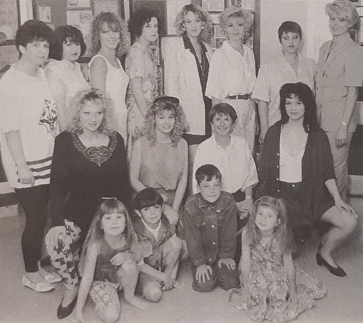 Models who took part in the fashion show back in 1994. (11465355)