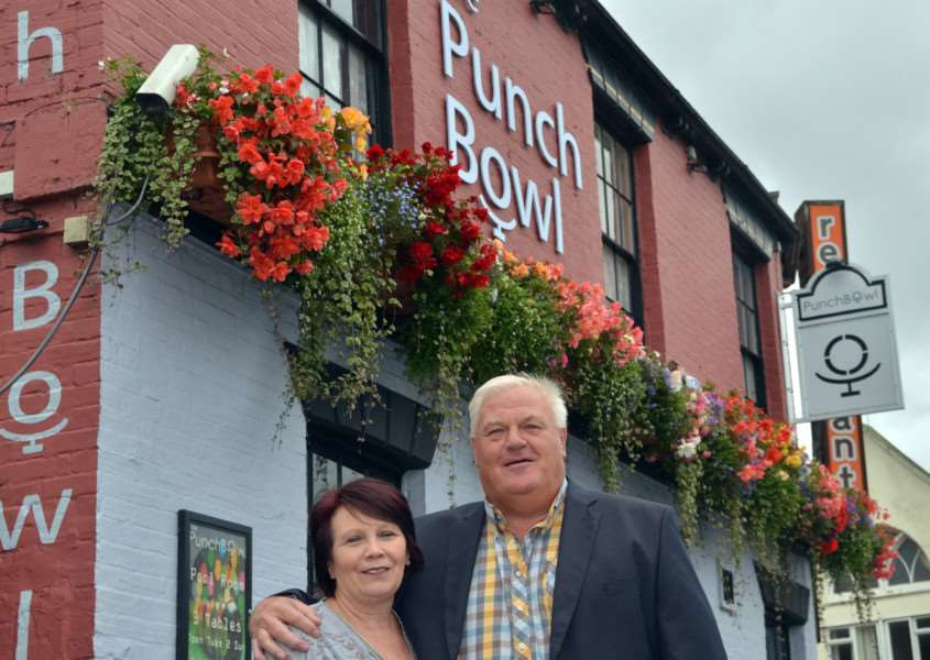 LAST ORDERS: 'Pete and Steph Williams have put The Punchbowl on the market after nearly 20 years there. Photo by Tim Wilson. SG100917-159TW.