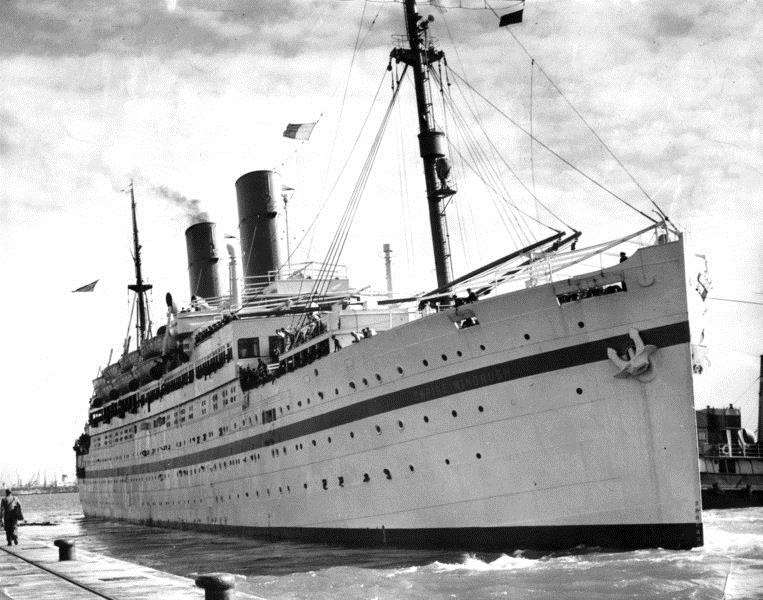 HMT Empire Windrush and ships like her brought peopel from the West Indies to the UK.