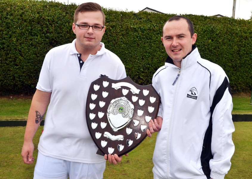 Fisher Shield finalists Oliver Gedney and Daryl Crane