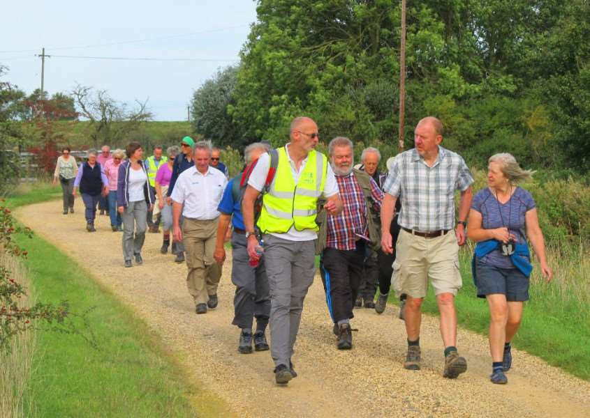 The South Lincolnshire Walking Festival continues this weekend.