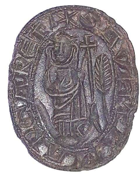 The rare type of medieval seal matrix (38967400)