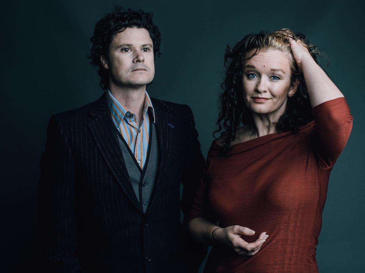Sean Lakeman and Kathryn Roberts will be the guests of Spalding Folk Club for its 40th anniversary concert in May. Photo by Matt Austin.