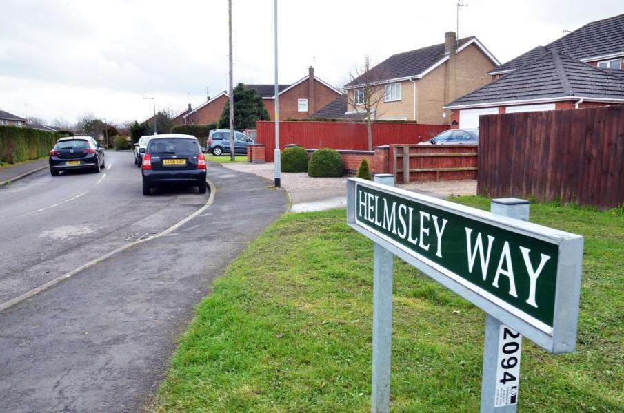 Helmsley Way, where the attack happened