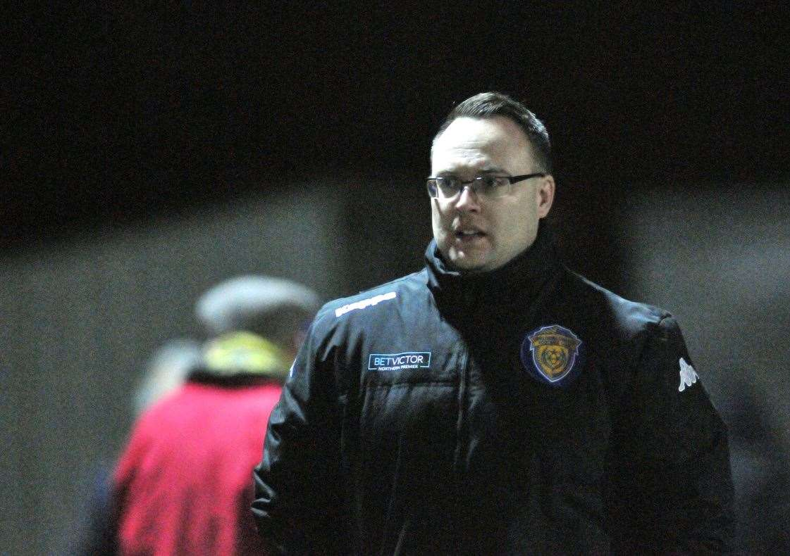Spalding United manager Lewis Thorogood.Photo by Tim Wilson.SG-110120-145TW.