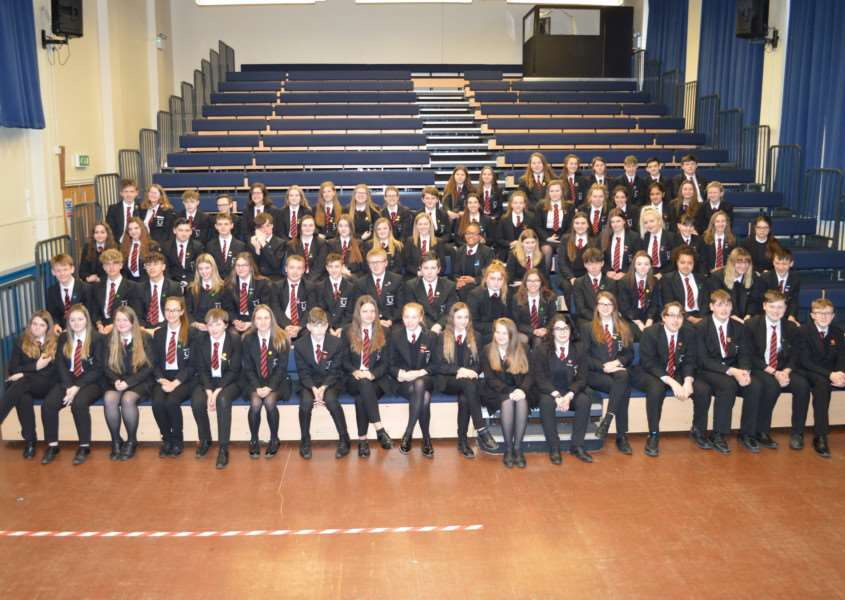 Spalding Academy Year 10 Temporary Prefects