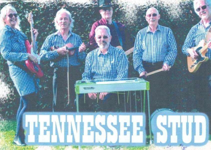 Band Tennessee Stud are performing at the Indoor Bowling Centre at Sutton St James on New Year's Eve.