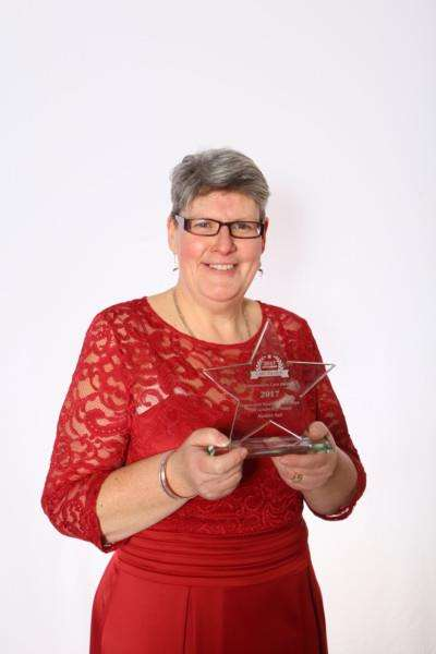 Nadine Vail, of Kimberley Care Home in Long Sutton, won the Care Leadership award.