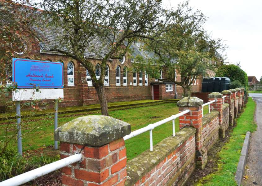 "Holbeach Bank Primary School where staff and governors are ""very shocked and saddened"" by Ofsted's decision to put the school in special measures. Photo by Tim Wilson. SG071017-114TW."