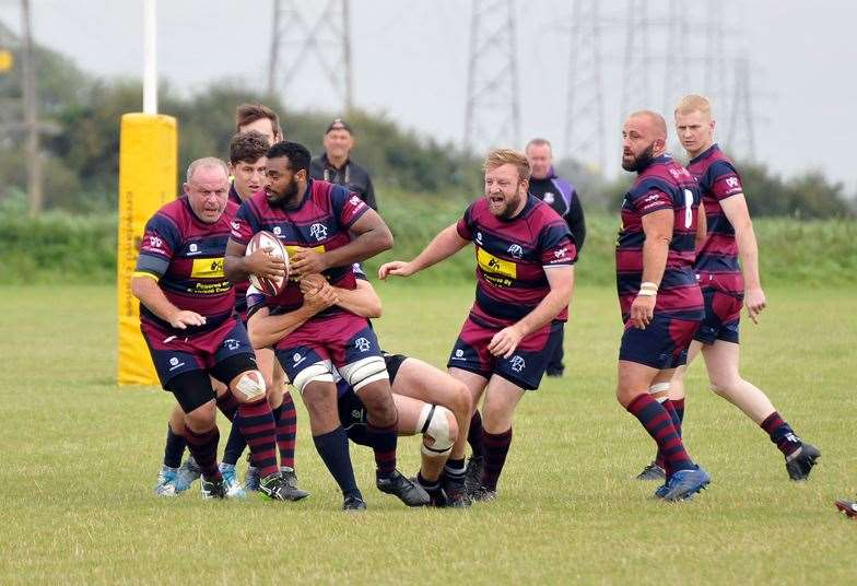 Spalding are due to play Wetherby in the RFU Senior Vase national semi-final.Photo: SG-310819-034TW.