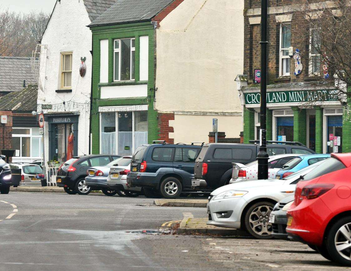 Crowland Parish Council is trying to find answers to a growing problem of parking in West Street.Photo by Tim Wilson.SG-231118-026TW.