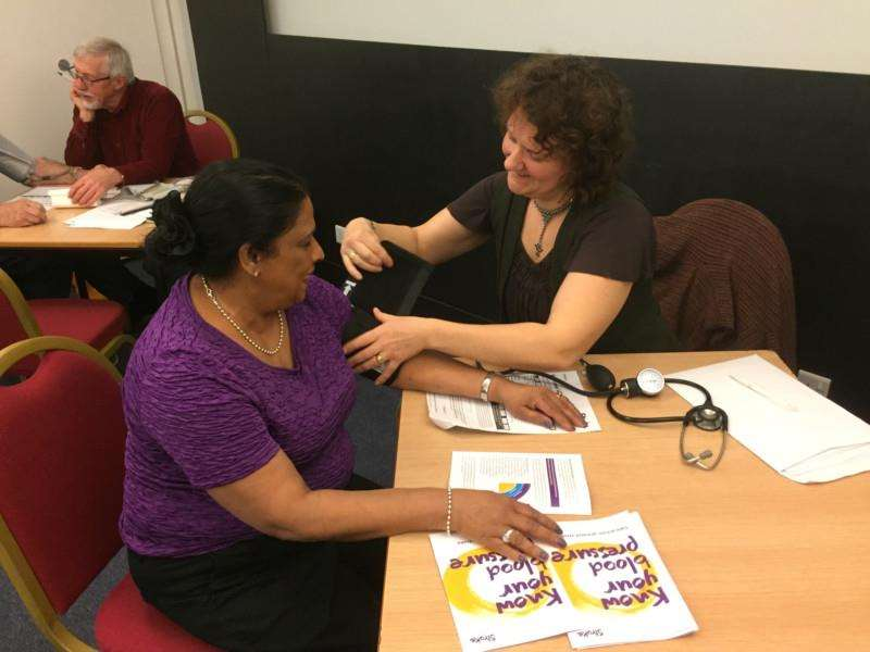 Rotary saw a good turnout for the free blood pressure checks in Spalding.