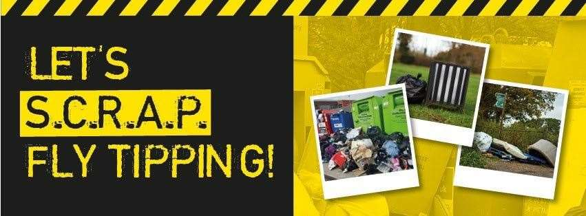 South Holland District Council is tackling flytippers (26656935)