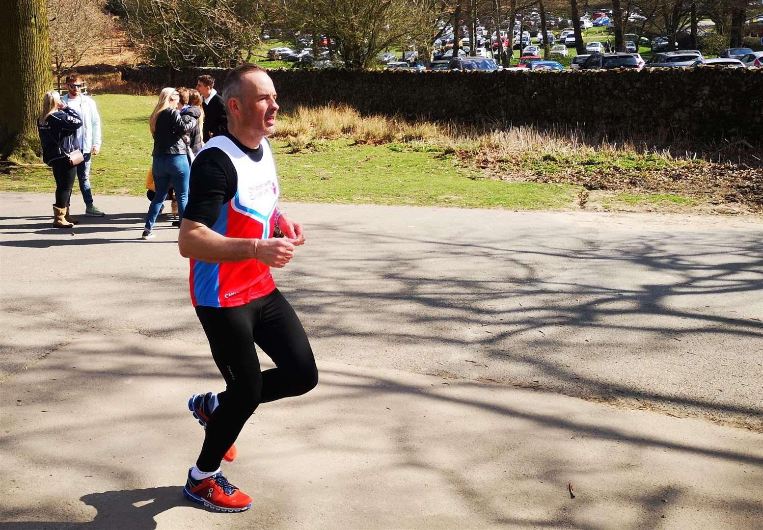 Encore sales director Ian Briers in training for the London Marathon (8868623)