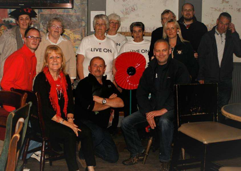 A former quiz arranged in aid of the Royal British Legion by Tulip Events Management.