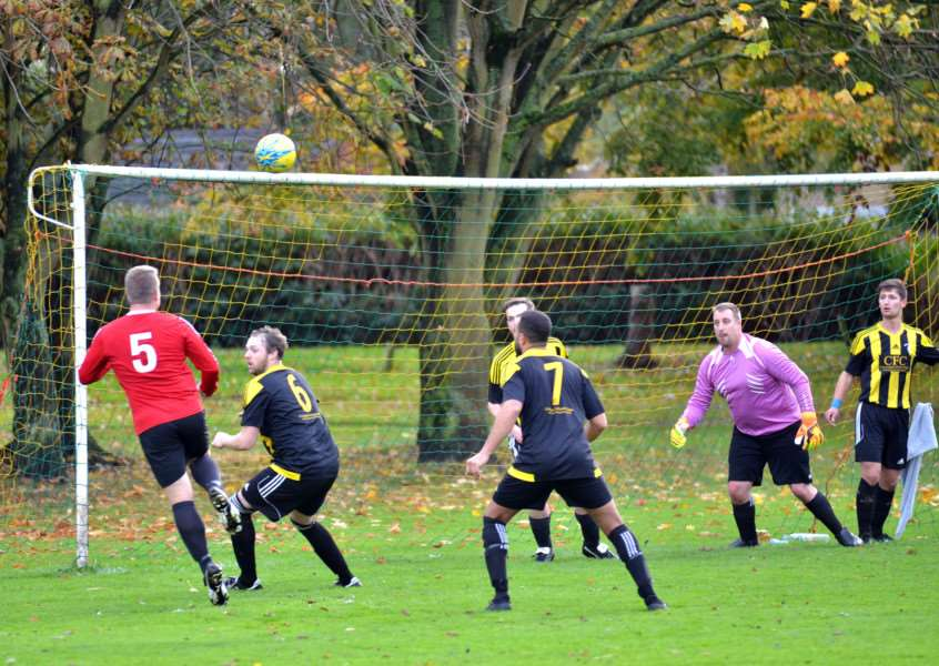 Tydd St Mary won 3-2 at Crowland Town last weekend in Division One of the Peterborough & District League.