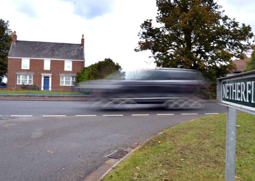 Lincolnshire County Council is proposing to extend the existing 30mph zone outside William Stukeley Primary School by a further 180 metres along Spalding Road. Photo: SG151015-111TW.