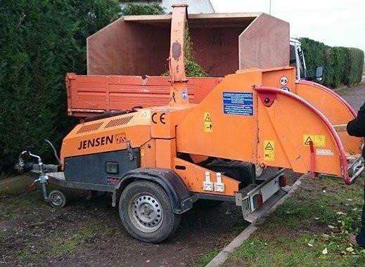 STOLEN: wood chipper