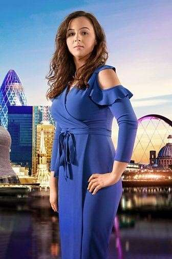 Khadija Kalifa as the public saw her in The Apprentice.