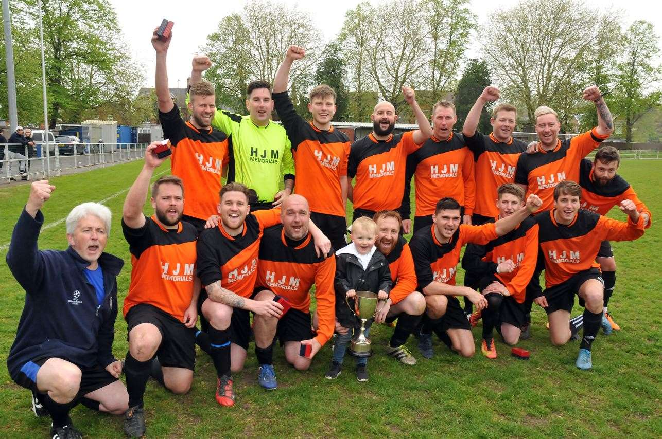 Spalding Sunday League Knockout Cup winners Jubilee